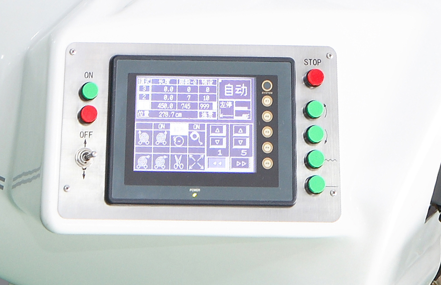 touch panel easy to set up the length number of layer speed and steps